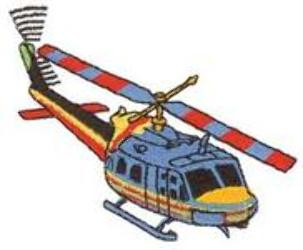 DT1976 Aircraft Embroidery Designs Image