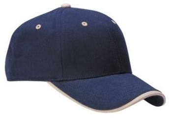 4b4f2b688ed05 6-Panel Mid Pro Brushed with Wave Visor | Wholesale Baseball Caps & Hats