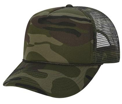 Cobra 5 Panel Camouflage 4 Quot Foam Front Mesh Back Cap