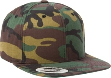 Yupoong Camo Classic Snapback Wholesale Camo Caps