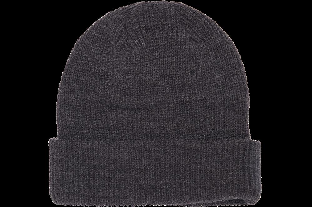 Yupoong-Ribbed Cuffed Knit Beanie   Knit Beanies : Custom
