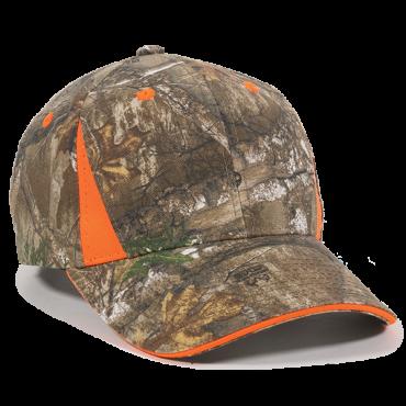 9f245d9e Outdoor 6 Panel Blaze Sandwich Visor Cap | Wholesale Caps & Hats ...