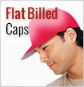 Flat Billed Caps : Custom, Blank and Wholesale Caps