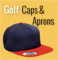 5 Panel Golf Caps/Aprons
