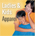 Ladies & Kid's Shirts/Apparel