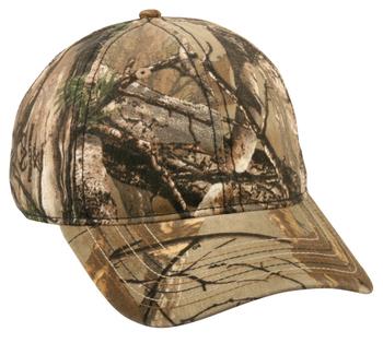 Outdoor Caps: Wholesale Camo Caps with Flag Printed Under Visor | Wholesale Caps