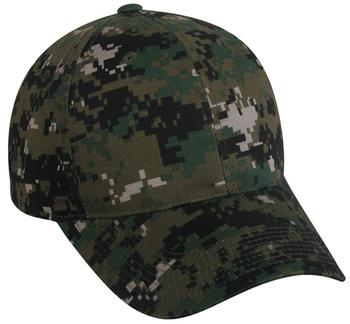 Outdoor Caps: Outdoor Structured Digital Camo | Wholesale Caps & Hats