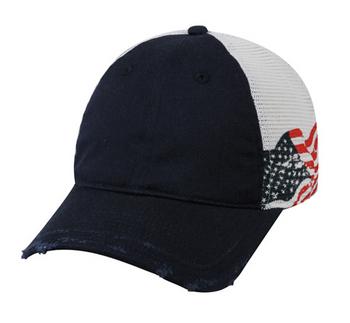 Outdoor Caps: Screen Printed US Flag | Wholesale Caps At CapWholesalers.com
