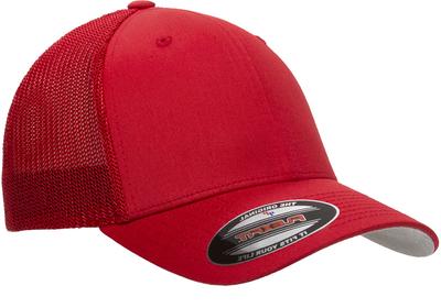 9afdf794fc966 Yupoong Flexfit Cotton Trucker Mesh Hat