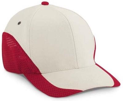 Cobra Caps: Wholesale Cobra Caps Edged Jersey Mesh Trimmed Cap - CapWholesalers
