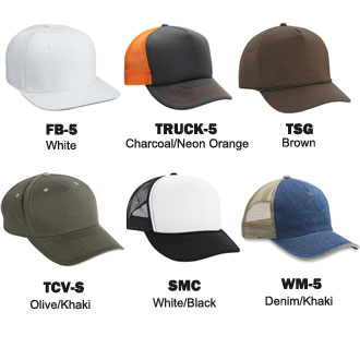 Cobra Caps: Can't Decide? Try Our Wholesale 5 Panel Sample Pack -CapWholesalers