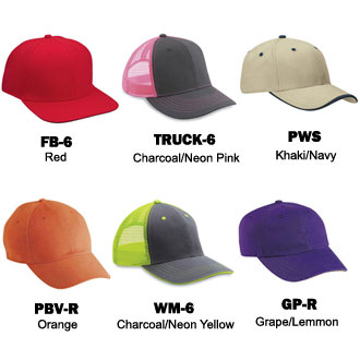 Cobra Caps: Can't Decide? Try Our Wholesale 6 Panel Sample Pack -CapWholesalers
