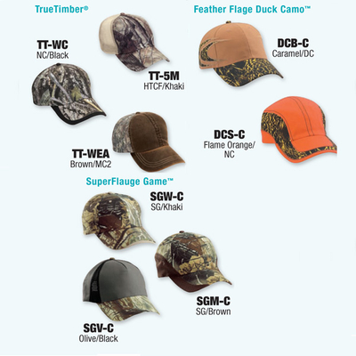 Cobra Caps: Can't Decide? Try Our Wholesale Licensed Camo Caps Sample Pack