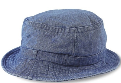 b2bd39fdba9 Cobra-Stone Washed Denim Bucket Hat