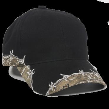 Outdoor Caps: Wholesale Outdoor Barbed Wire Camo Cap - CapWholesalers