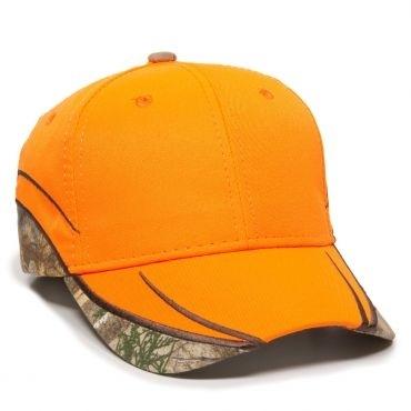 Outdoor Caps: Wholesale Outdoor Blaze w/Camo Inserts Cap - CapWholesalers.com