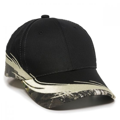 Outdoor Caps: Wholesale Outdoor Caps Camo Flare Design - CapWholesalers.com