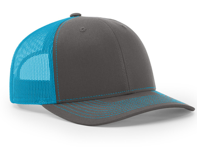 Richardson Trucker Twill Mesh Snapback. SKU  112 db8daf6d814