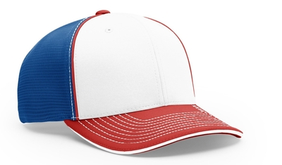 Richardson Sport Mesh with Piping Hat | Wholesale Blank Caps & Hats
