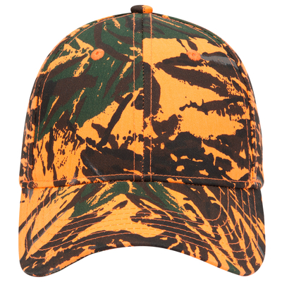 Otto-Camouflage Cotton Twill Low Profile Pro Style
