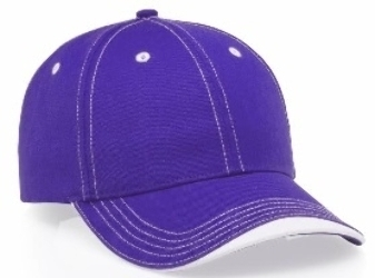 Richardson Hats: Wholesale Contrast Wave 6-Panel Cap | Wholesale Blank Caps