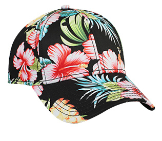 Otto Caps: Hawaiian Style Cotton Twill Low Profile Pro Cap | CapWholesalers
