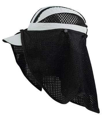 Wholesale Mega Caps: Juniper Taslon UV Cap & Removable Mesh Flap -CapWholesalers