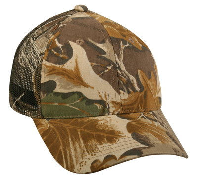 Outdoor Caps: Wholesale Camo Trucker Hats With Camo Mesh Back | CapWholesalers