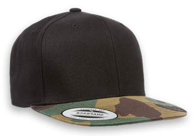 42251f6e5c3 Yupoong Classic Snap Back with Camo Flat Bill. SKU  6089TC