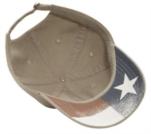 Cobra Caps: Wholesale Chino Relaxed Fit Cap / Underbill US Flag - CapWholesalers