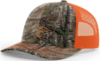 Richardson 112: Digital Camo Pattern Twill 112 Trucker Hat - CapWholesalers