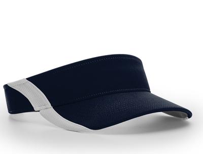 Richardson Hats: Wholesale Dryve Color Split Visor Cap | CapWholesalers