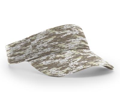 Richardson Hats: Wholesale Camo Adjustable Sun Visor Cap   CapWholesalers