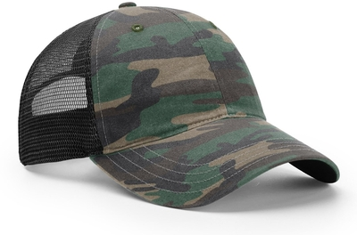 Richardson Hats: Wholesale Garment Relaxed Washed Trucker Cap | CapWholesalers