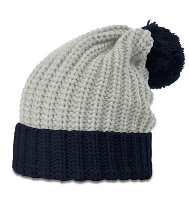 7971e5c8 Richardson Chunk Pom Beanie W/Cuff | Knit Beanies : Custom, Blank ...
