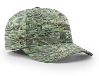 Richardson Structured Performance Camo Camouflage Caps