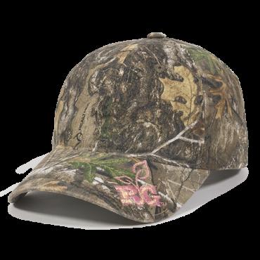 Outdoor Ladies Fit 6 Panel Realtree Cap | Camouflage Caps : Camo Caps