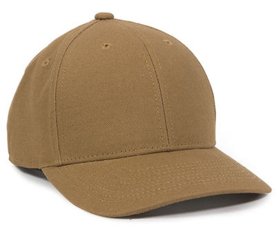 Outdoor 6 Panel Structured Heavy Washed Cotton Canvas | Wholesale Blank Caps & Hats | CapWholesalers