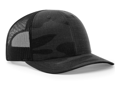 Richardson 6 Panel Cap: Multicam Trucker Cap (Wholesale)