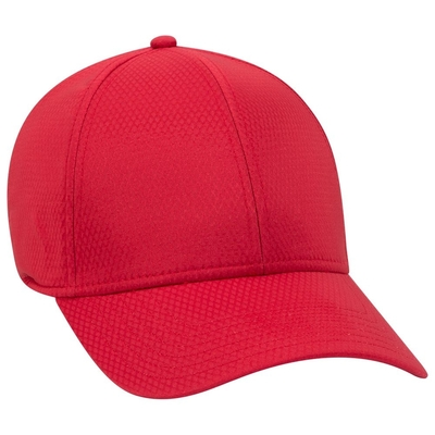 Otto 6 Panel Low Profile Cool Comfort Performance Stretchable Diamond Knit | Wholesale Caps & Hats From Cap Wholesalers