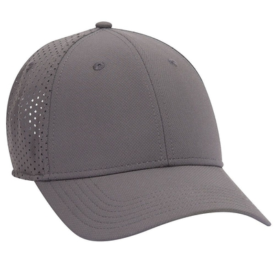 UPF 50+ Cool Comfort Stretchable Knit Perforated Back 6 Panel Low Profile | 6 PANEL BASEBALL