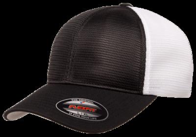 Flexfit Caps: ALL MESH Omnimesh 2 Tone Trucker Cap -Wholesale Blank Hats
