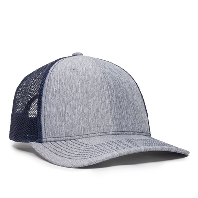 Outdoor Caps: Ultimate Low Pro Trucker Cap -Wholesale Blank Hats