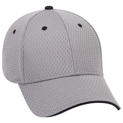 Otto Caps: 6 Panel Low Pro Baseball Cap Sandwich Visor Wholesale Blank Hats