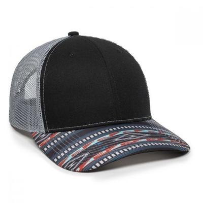 Outdoor Caps: Wholesale Aztec Trucker Caps. Wholesale Blank Caps & Hats