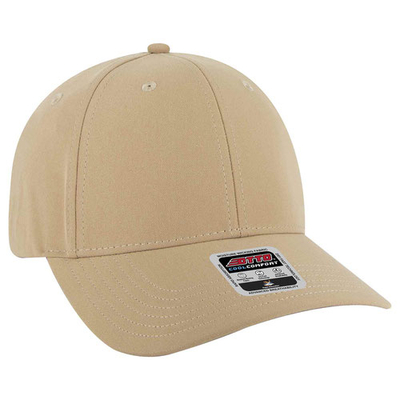 Otto Stretchable Performance Polyester: 6 Panel Baseball Cap | CapWholesalers