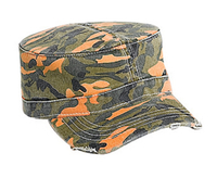 Otto-Camouflage Garment Washed Cotton Twill Military Style