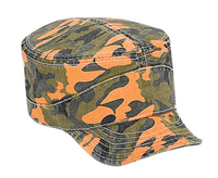 Otto-Camouflage Garment Washed Cotton Twill Flexible Soft Visor Military  Style a61b0e96610e
