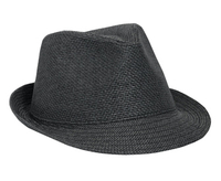 Otto Twisted Toyo Fedora Hats