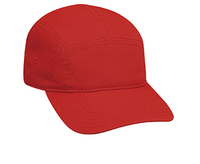 Garment Washed Cotton Twill Five Panel Camper Style